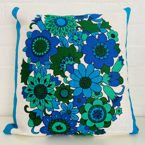 Retro Tea Towel CUSHION Fun Living Space