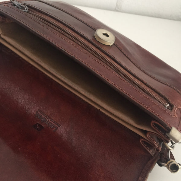 RUSTIC Little Purse Handbag Genuine LEATHER Bag