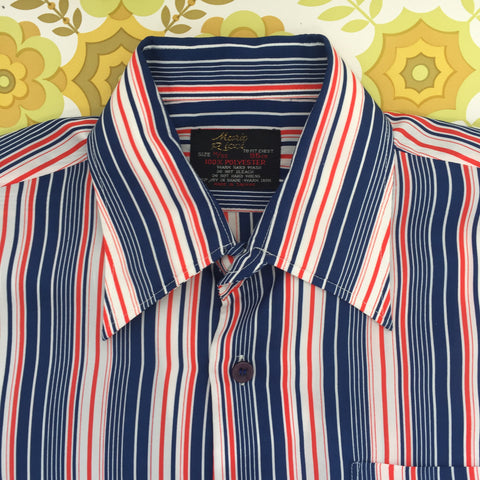 Vintage Mens Short Sleeve SHIRT Vintage RETRO UNWORN
