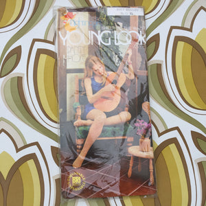 SOFT SHADOW Vintage RETRO Panty HOSE XL COOL 70's Packaging