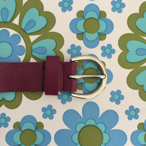 DIANA Ferrari LEATHER BELT Gorgeous Small Wear With Skirt Jeans Dress