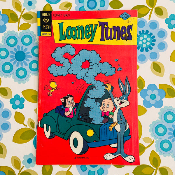 LOONEY Tunes Comic 1977 Childs RETRO BOOK Good Cond
