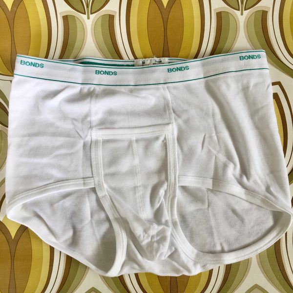 THREE Pairs Vintage Mens Bonds Y Front Sports Briefs Size 16 85cms  Unused
