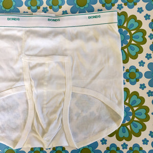 ONE PAIR Vintage Mens Bonds Y Front Sports Briefs Size 18 90cms  Unused
