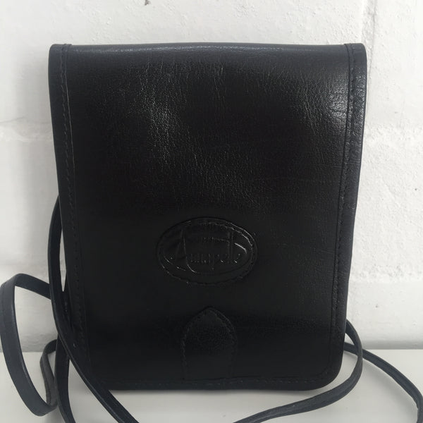 UNUSED Genuine LEATHER Vintage Annapelle Bag Cross Body