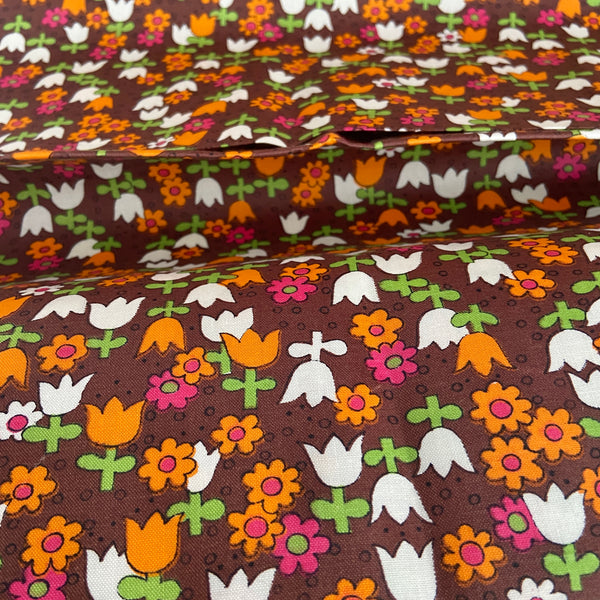 STUNNING European Cotton Floral FABRIC Miniature FLORAL Print