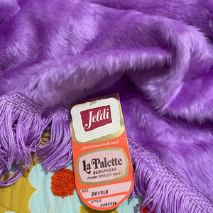JELDI UNUSED with TAG Retro Soft Cuddly CLEAN BLANKET Bedspread