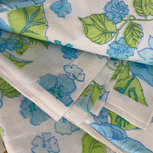 UNUSED Cotton Vintage 70's Sheet Straight From PACKET FABRIC