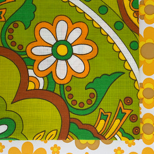 TENNYSON TABLE CLOTH Unused Vintage 70's RETRO HOME