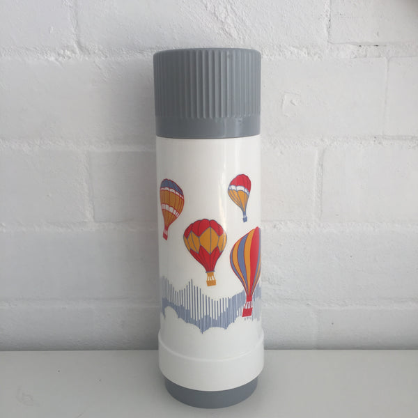 Vintage Thermos Made In Germany Hot Air Balloons Dr Zimmerman Picnic Caravan