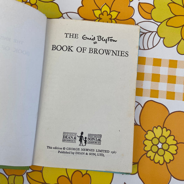 ENID BLYTON The Book of Brownies Hard Cover 1967 Collectable
