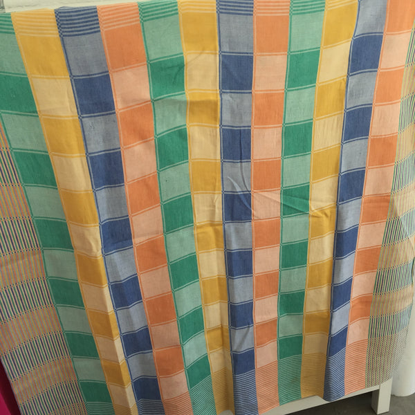 FUN & FAB Vintage Tablecloth COTTON Kitchen Cute COLOURS