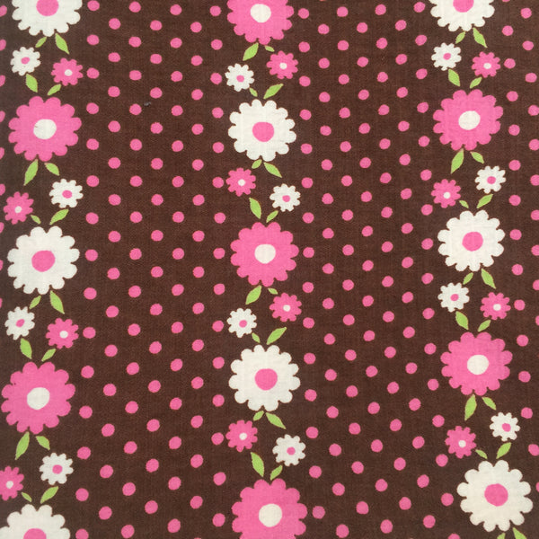 CUTE VINTAGE FABRIC Cotton Blend Sewing Project