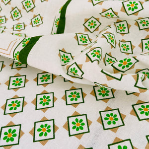 STUNNING Unused Cotton Table CLOTH Retro Dinner Party
