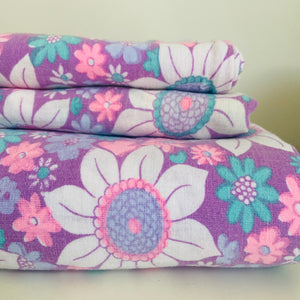 RETRO Beautiful Vintage Pillow Cases & Sheets / Fabric