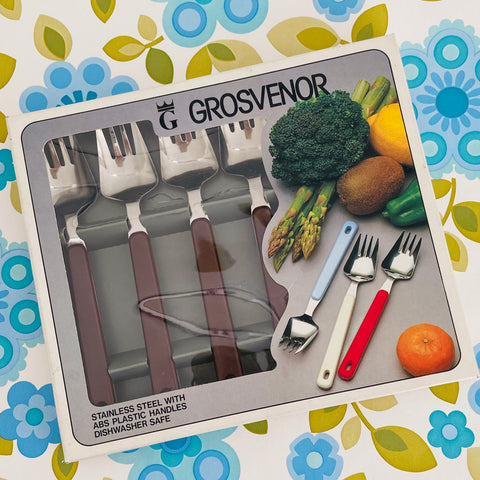 Grosvenor 6Pc Stainless Steel Eating Set Picnic Caravan
