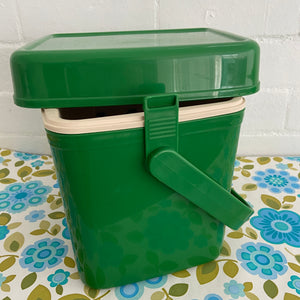 Decor GREEN Retro Esky UNUSED Vintage Caravan Camping