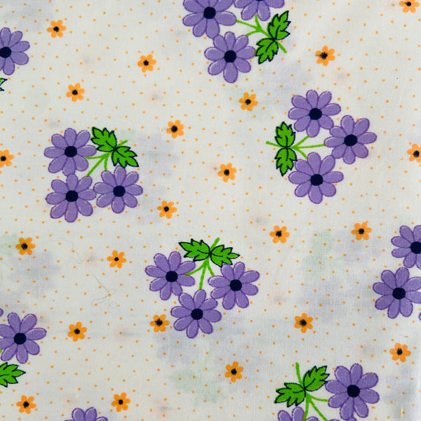170cms FABULOUS Vintage Floral Cotton Fabric Quilting LOVE LOVE LOVE