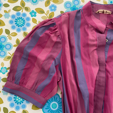 David Cardigan RETRO Cotton Vintage 80's Fashion