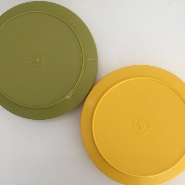 RETRO Tupperware Pair of Large Containers FABULOUS Set