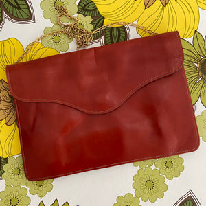 BOHO Hippy Vintage Genuine LEATHER Clutch PURSE Cool