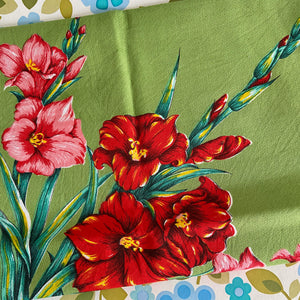 Caravan Camping Retro Home Kitchen Table CLOTH Floral