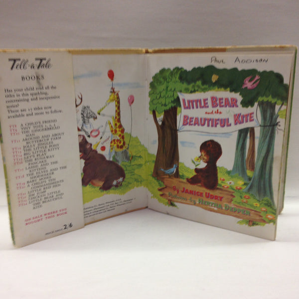 Little Bear and the Beautiful Kite by Janice Udry BOOK - Pink Peacock  - 3