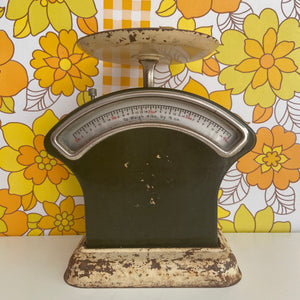 FARMHOUSE Rustic Vintage Scales Chippy Kitchen DISPLAY