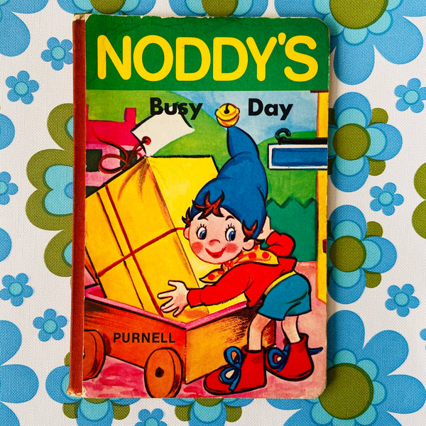 NODDY'S Hard COVER Vintage BOOK RETRO Find Children's BOOK