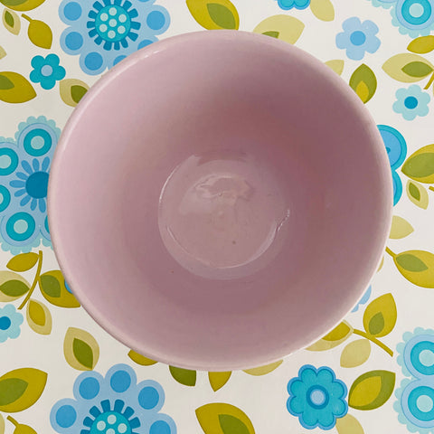 FOWLER Ware Purple Bowl Vintage Kitchen RETRO Baking