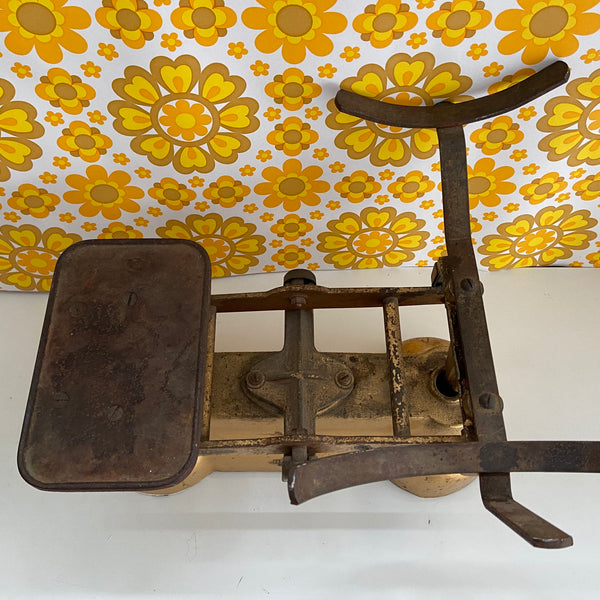 RARE Ajax Scales Cool Kitchen Display VINTAGE Farm House