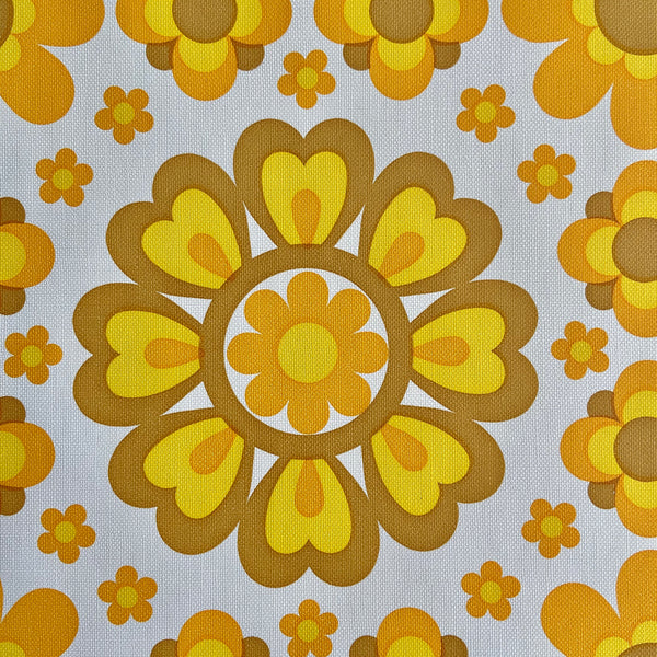 BRIGHT RETRO Genuine Vintage Wallpaper By the METRE