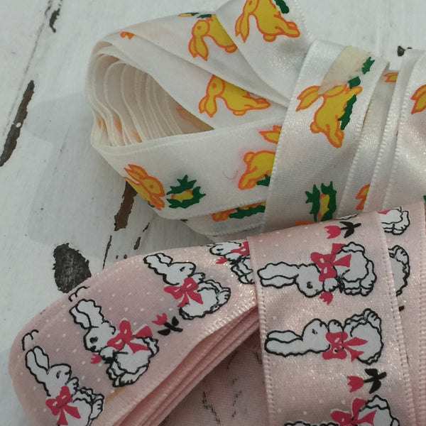 Lovely Vintage Ribbon Retro Kids Pattern Trim Childs Play