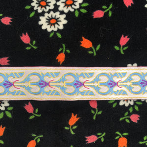 PRETTY Embroidered Ribbon Trim Vintage Sewing Project