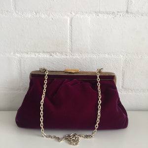 VELVET Vintage Luxury Vintage Evening Cocktail Party Purse Bag