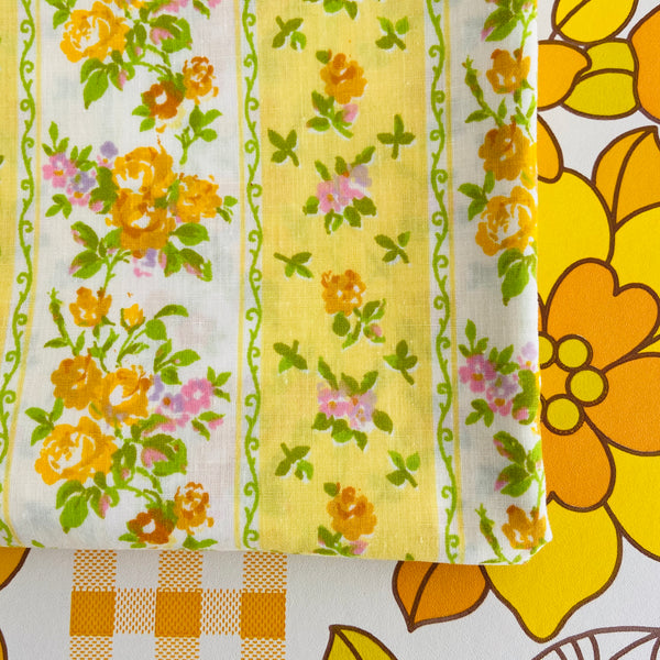 Cotton PILLOW CASE Crisp & Bright Girls Bedroom