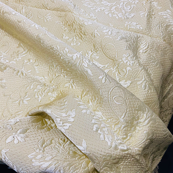 AMAZING Vintage Brocade UNUSED Vintage Blanket ITALIAN