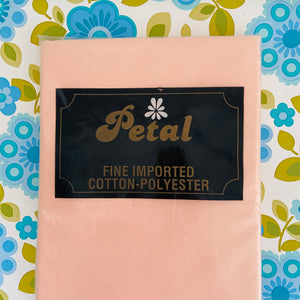 PEARL Retro UNUSED Sheet Flat Pink Vintage BEDDING