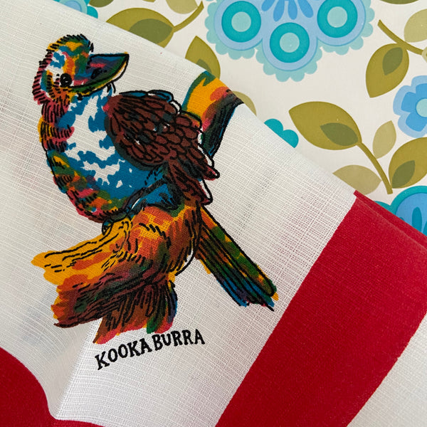 Unused Collectable AUSTRALIA Table Cloth Spun Rayon
