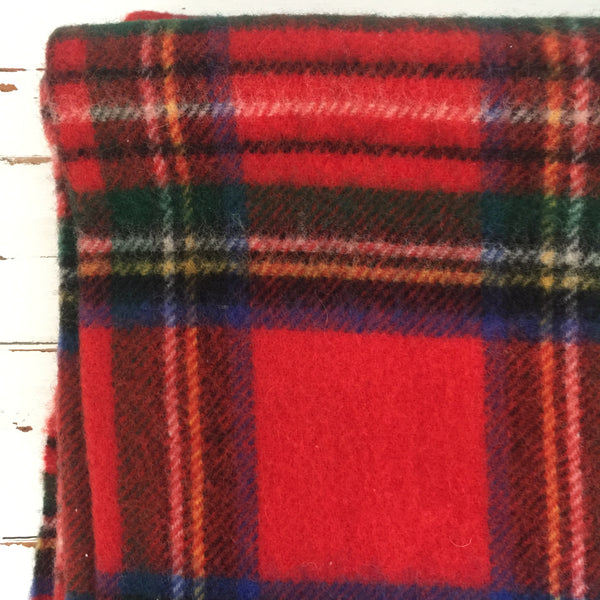 Matilda The Original Travel Rug Checked PURE NEW WOOL