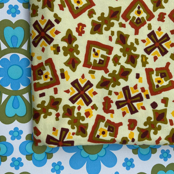 COOL Thick Cotton upholstery Cushions RETRO Print