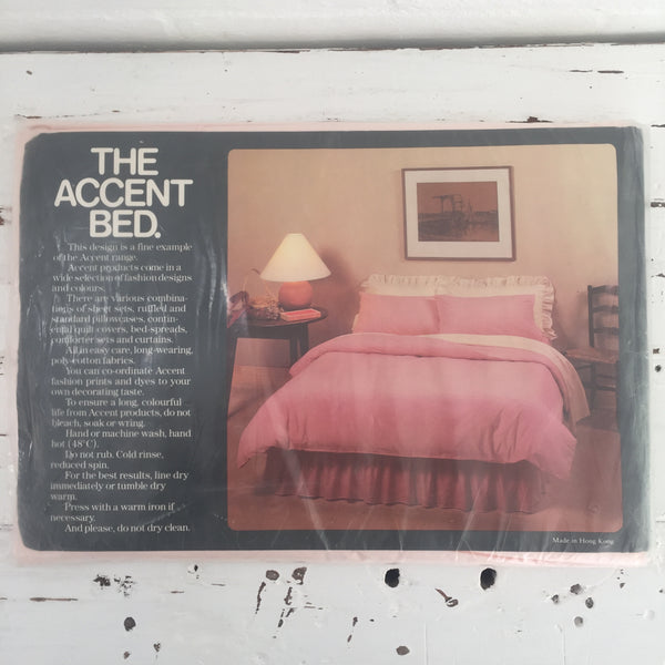 ACCENT Single Sheet UNUSED Retro Sweet Colour