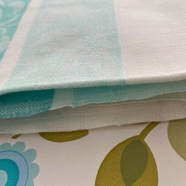 Damask Retro Table Cloth BRIGHT Caravan Camping