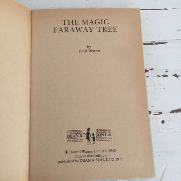 The Magic Faraway Tree Enid Blyton Hard Cover Vintage