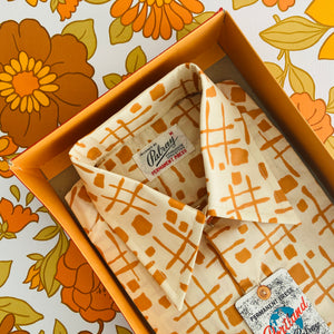 Amazing Mens Retro BOXED Shirt Size Medium