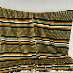 Pair of RETRO Towels So Cool All Cotton Stripes