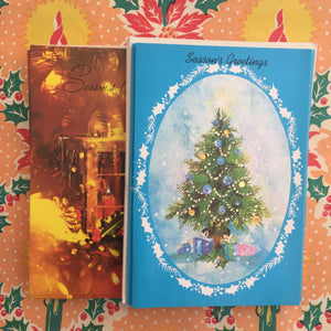 CUTE LOT ADORABLE Pack of Vintage Xmas Christmas Cards 70's Retro