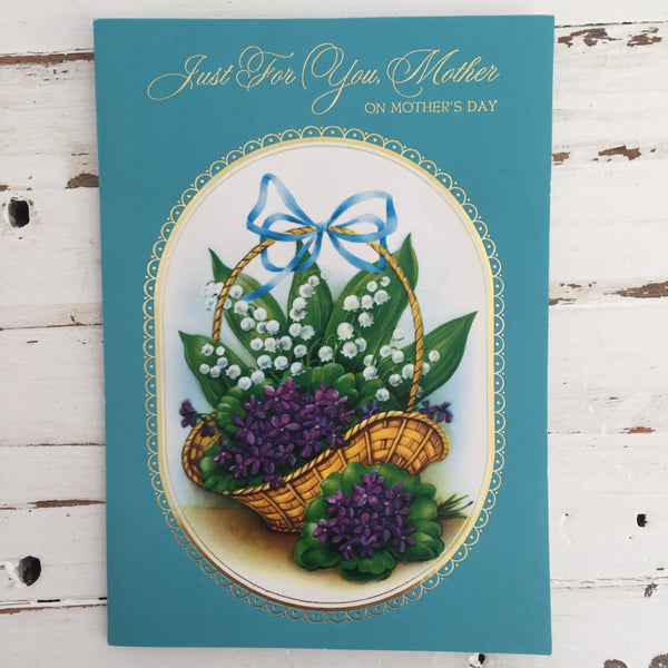 Vintage POP Up Mothers Day CARD RETRO Craft