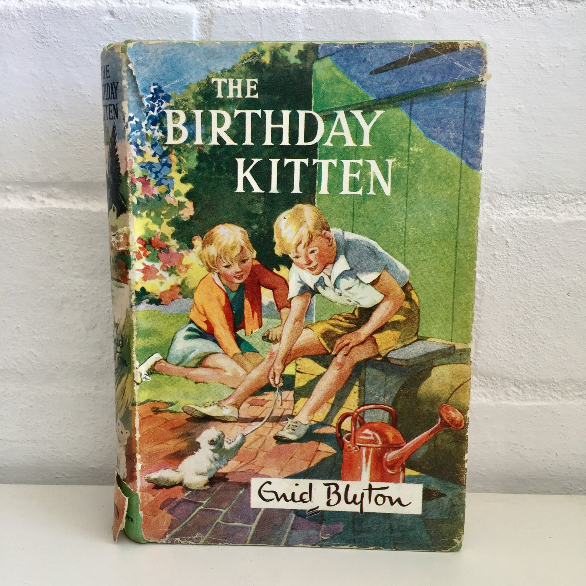 The Birthday Kitten Enid Blyton 1958 Hardcover Vintage Book