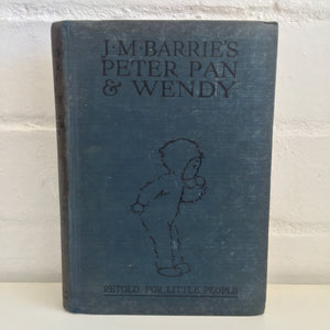 J M Barnes Peter Pan & Wendy Retold for Little People